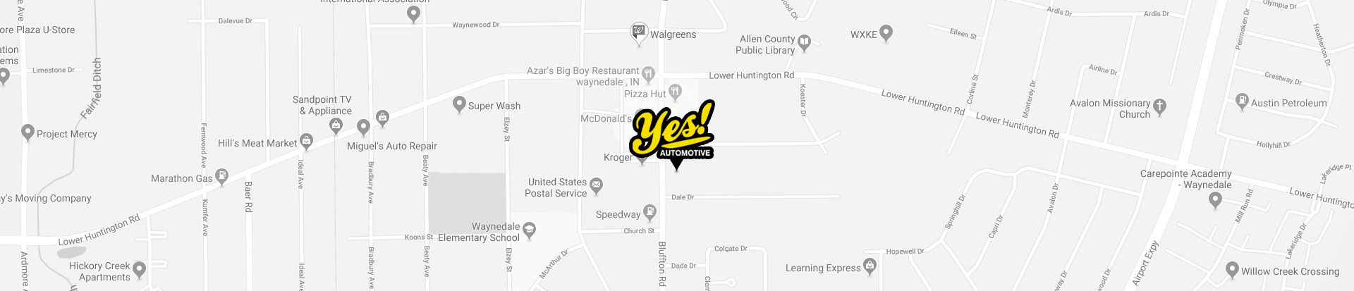 Directions to Yes! Automotive