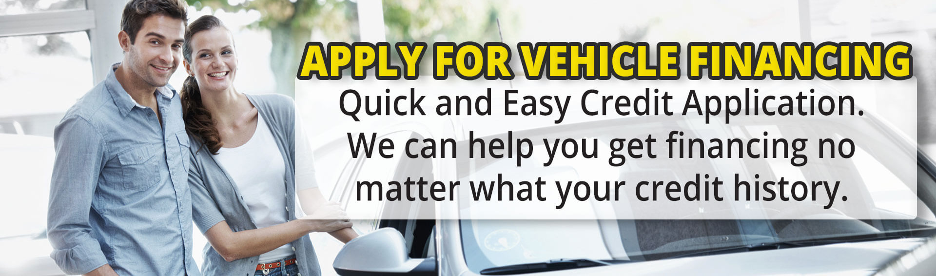 Apply for Vehicle Financing